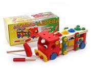 ahşap oyuncaklar söküp takmalı kamyon , Toptan Satış