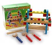 toptan ahşap oyuncaklar Ahşap İnşaat Tezgahı, Toptan Satış