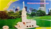3 boyutlu ahşap kız kulesi maketi, Toptan Satış