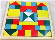 ahşap oyuncaklar renkli ahşap bloklar, Toptan Satış