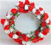 çiçek tacı kırmızı beyaz gül model, Toptan Satış