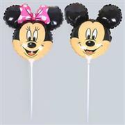 çubuklu folyo balon mickey mouse, Toptan Satış