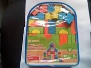 ahşap oyuncak bloklar sırt çantalı 39 parça, Toptan Satış