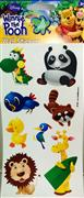 Lisanslı sticker hayvanlar alemi model, Toptan Satış