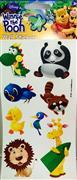 Lisansl� sticker hayvanlar alemi model, Toptan Sat��
