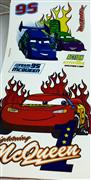 Cars model büyük boy lisanslı sticker, Toptan Satış