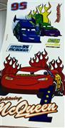 Cars model b�y�k boy lisansl� sticker, Toptan Sat��