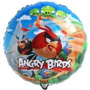 Toptan FOLYO balon yuvarlak angry birds, Toptan Satış