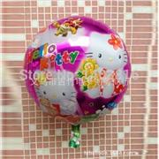 Toptan folyo balon yuvarlak hell kity, Toptan Satış