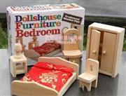 ahşap yatak odası seti oyuncağı, Toptan Satış