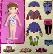 ahşap giydirme oyuncağı kız model, Toptan Satış