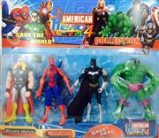 toptan oyuncak 4lü american hero oyuncak seti, Toptan fiyatları