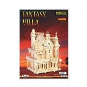 toptan ahşap puzzle fantasy villa G-DH004, Toptan Satış