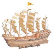 toptan ahşap puzzle gemi maketi G-P131, Toptan Satış