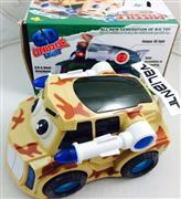 toptan oyuncak 3 boyutlu ışıklı asker arabası, Toptan Satış