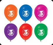 toptan baskılı balon 3 yaş yazılı, Toptan Satış