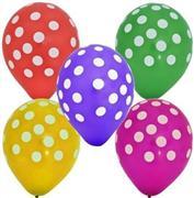 büyük puantiyeli baskılı balon, Toptan Satış