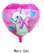 toptan folyo balon satış kedi meria kalp model, Toptan Satış
