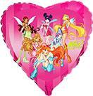 toptan folyo balon satış winx kalp model, Toptan Satış