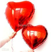 toptan folyo balon kırmızı kalp 18 inç, Toptan Satış