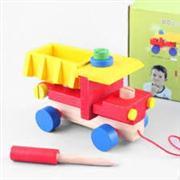 toptan ahşap oyuncak sökülüp takmalı iş makinaları, Toptan Satış