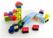 ahşap oyuncak toptan satışı 30 parça renkli blok, Toptan Satış