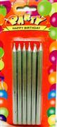 toptan doğum günü mumu kalem model kurşuni renk, Toptan Satış