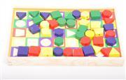 ahşap oyuncak geometrik şekilli yazı tahtası, Toptan Satış