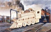 toptan ahşap 3d maket tren model, Toptan Satış