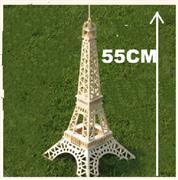toptan ahşap 3d maket eifel kulesi model G-P030, Toptan Satış