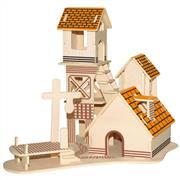 TOPTAN AHŞAP 3D MAKET VİLLA G-P266, Toptan Satış