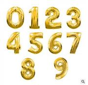 toptan rakam folyo balon altın renk 70 cm, Toptan Satış