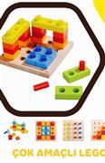 Ahşap Lego Çok Amaçlı, Toptan Satış