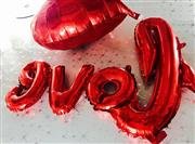 Toptan Folyo balon  love yazısı, Toptan Satış