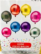 Küre Model Folyo Balon, Toptan Satış
