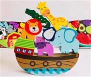 Toptan Ahşap Oyuncak Nuh un Gemisi Denge Oyunu, Toptan Satış