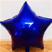 Lacivert Renk Yıldız Büyük Boy Folyo Balon, Toptan Satış