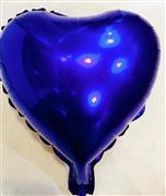 Kalp Folyo Balon Mini Mor, Toptan Satış