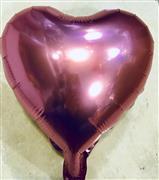 Kalp Folyo Balon Mini Pembe, Toptan Satış