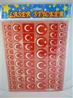 Toptan Sticker Ay Yıldız Modeli mor-018, Toptan Satış