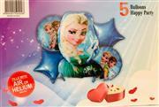 Frozen Model 5 li Folyo Balon Seti, Toptan Satış fiyatları