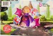 Sofia Model 5 li Folyo Balon Seti, Toptan Satış fiyatları