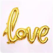 Toptan folyo balon Love Yazısı ALTIN, Toptan Satış