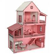 Ahşap Büyük Boy Pembe Ev, Toptan Satış fiyatları