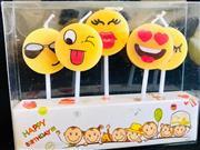 Emoji Şeklinde Parti Mumu, Toptan Satış fiyatları