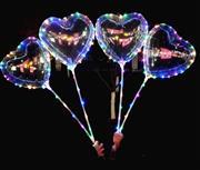 Işıklı Ledli Balon Kalp Model, Toptan Satış