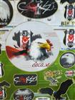 Toptan Sticker BJK Taraftar Modeli bam-003, Toptan Satış