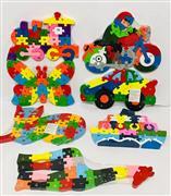 Ahşap Oyuncaklar Sayılı Hayvan Puzzle, Toptan Satış fiyatları