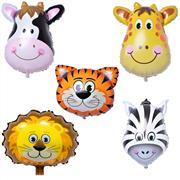 5 li Safari Folyo Balon Seti, Toptan Satış fiyatları